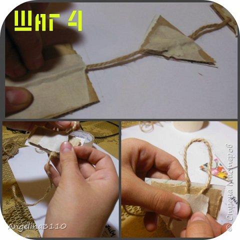 Шаг 1. Вырезаем распечатки календаря. Вырезаем треугольник и прямоугольник из цветных картинок. фото 4