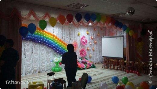 Украшение зала к выпускному в детском садике фото 7