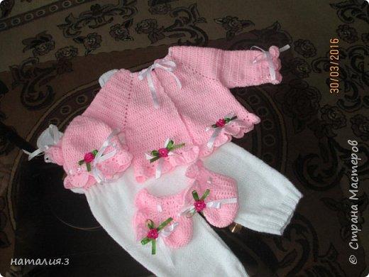 костюмчик для новорожденного фото 4