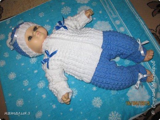 костюмчик для новорожденного фото 8