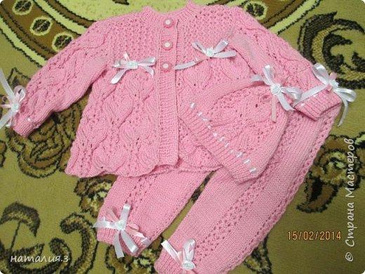 костюмчик для новорожденного фото 6