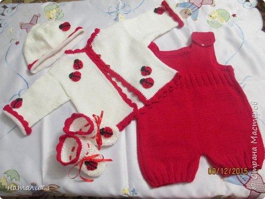 костюмчик для новорожденного фото 1