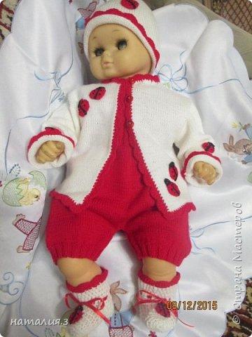 костюмчик для новорожденного фото 2