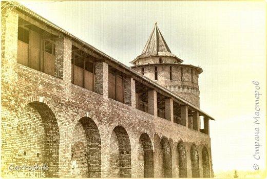 Древние камни - Коломенский кремль