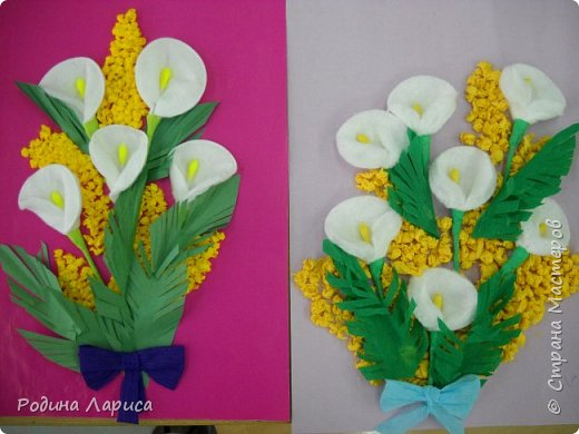 Открытка в подарок маме. фото 1
