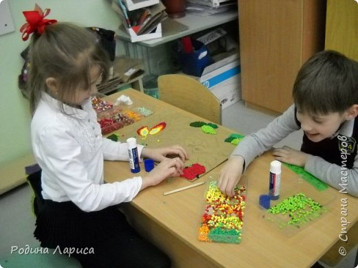 "Панно ""Сказочный сад"" фото 2"