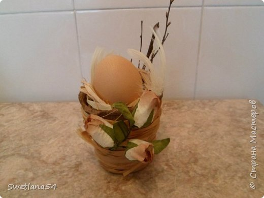 К Пасхе - Подставка для яйца фото 2