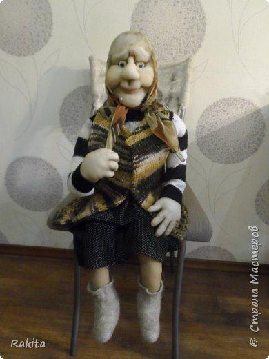 Здравствуйте жители СМ!!! Заказали мне двух кукол, деда и бабушку.Сделались быстро на одном дыхании, хоть и достаточно большие, высота  1 метр. фото 4