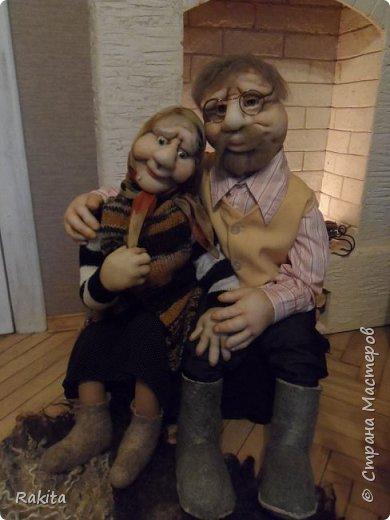 Здравствуйте жители СМ!!! Заказали мне двух кукол, деда и бабушку.Сделались быстро на одном дыхании, хоть и достаточно большие, высота  1 метр. фото 1