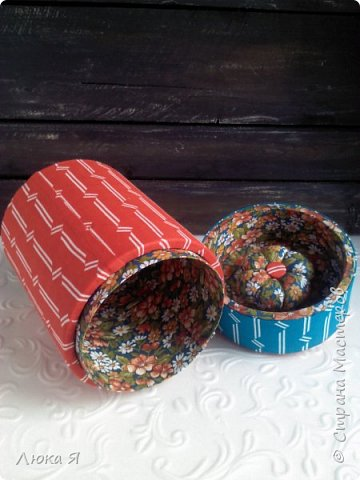 На подарки к праздникам изготовила шкатулки-игольницы фото 11