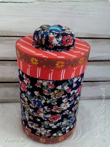 На подарки к праздникам изготовила шкатулки-игольницы фото 13