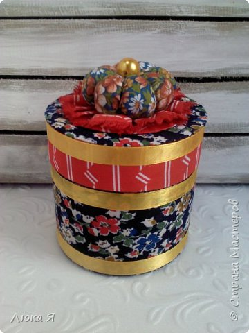 На подарки к праздникам изготовила шкатулки-игольницы фото 16