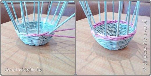 Здравствуйте жители Страны мастеров. Сегодня я решила показать вам как я плету Пасхального зайчика. фото 6