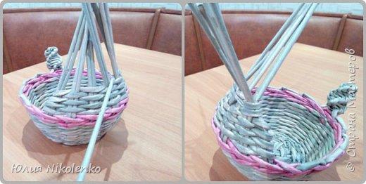 Здравствуйте жители Страны мастеров. Сегодня я решила показать вам как я плету Пасхального зайчика. фото 12