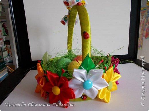 Резинки и корзинка к Пасхе фото 12