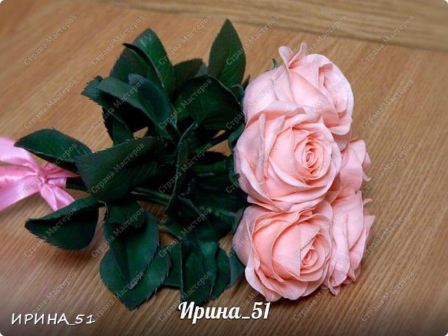 Здравствуйте! Выставляю на Ваш суд свои цветы из фома.  Без лишних слов, приглашаю  к просмотру.  Это моя финальная композиция Перезагрузки у своей новой хозяйки.  На фото замечательная представительница породы той-терьер Сашенька.  фото 8
