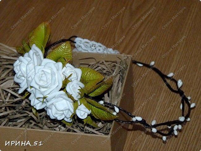 Здравствуйте! Выставляю на Ваш суд свои цветы из фома.  Без лишних слов, приглашаю  к просмотру.  Это моя финальная композиция Перезагрузки у своей новой хозяйки.  На фото замечательная представительница породы той-терьер Сашенька.  фото 16