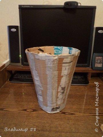 Настольная ваза  на рабочий стол. фото 3
