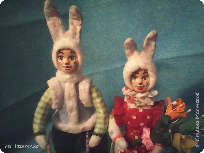 Кролики сделанные по МК Елены Васько. фото 2