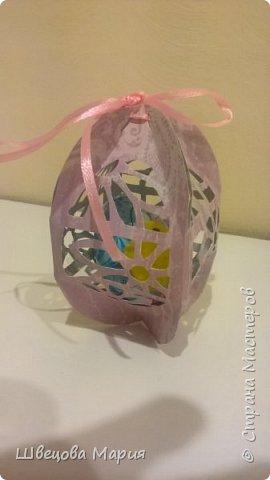 Пасхальные зайчики и коробочка с яичком и цыпленком внутри. фото 2