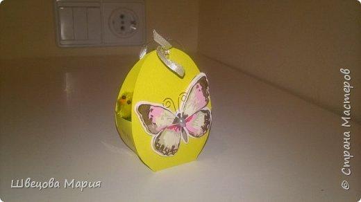 Пасхальные зайчики и коробочка с яичком и цыпленком внутри. фото 6