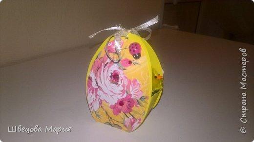 Пасхальные зайчики и коробочка с яичком и цыпленком внутри. фото 5