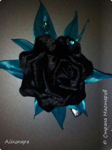 Чёрная роза для гота фото 1
