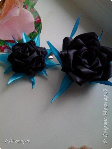 Чёрная роза для гота фото 3