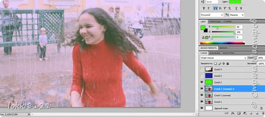Добрый день! Сейчас появилось очень много приложений, которые автоматически ставят фильтры на фотографии, тем самым придавая ей настроение, подчеркивая тени или интересные детали.   Преимущество этих приложений в том, что они супер удобны и не так уж обязательно быть профессионалом, понимать что конкретно происходит с твоей фотографией: осветление, наложение градиента, зернистости и т.д. Просто меняй настройки и будь счастлив!   Но если вам самим интересно освоить эти приемы обработки и азы компьютерной графики, советую все же установить себе любой графический редактор и осваивать его. Один из популярных, конечно Photoshop. А далее - только практика, практика, практика. В Интернете множество уроков, просто делайте все по шагам и у вас обязательно раз от раза будет получаться лучше и лучше!   Это небольшая лирика, а здесь я вам просто хотела показать один из приемов обработки фотографии (здесь не ретушь, а больше игра с цветом и текстурами). Постараюсь писать подробно и немножко объяснять, давать какие-то советы. Я совсем не профессионал, просто в школе захотела освоить Photoshop и часами просиживала за программой. Так что это просто мои советы.   Итак, такой нежный эффект очень хорош для светлых фотографий, где показаны какие то положительные эмоции - наслаждаетесь солнышком, хорошим днем. Также хорошо подойдет для портретных фото.   Для примера мое фото из Петергофа.  фото 4