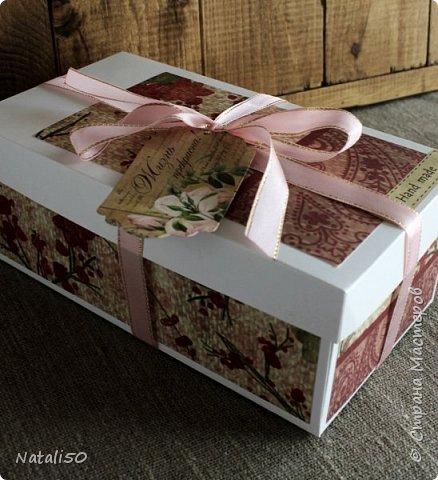 Доброго всем дня!! Хочу поделиться своими новыми работами, пробую делать упаковку для игрушек. .Посмотрела МК  Ольги Веселовой,захотелось и самой попробовать.. Вот мои первые коробочки.. Коробка достаточно большая получилась - 38 на 26 см. фото 4