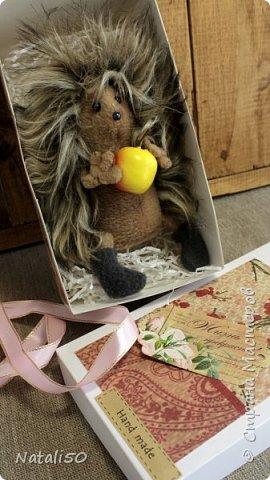 Доброго всем дня!! Хочу поделиться своими новыми работами, пробую делать упаковку для игрушек. .Посмотрела МК  Ольги Веселовой,захотелось и самой попробовать.. Вот мои первые коробочки.. Коробка достаточно большая получилась - 38 на 26 см. фото 3