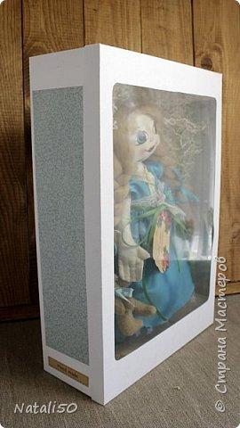 Доброго всем дня!! Хочу поделиться своими новыми работами, пробую делать упаковку для игрушек. .Посмотрела МК  Ольги Веселовой,захотелось и самой попробовать.. Вот мои первые коробочки.. Коробка достаточно большая получилась - 38 на 26 см. фото 2
