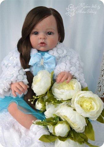 """Здравствуйте,девочка-мастерицы. """"Родилась"""" у меня очередная куколка Маргаритка. Ростом 70 см, весом около 3,5 кг. фото 10"""