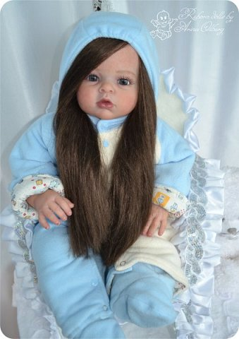 """Здравствуйте,девочка-мастерицы. """"Родилась"""" у меня очередная куколка Маргаритка. Ростом 70 см, весом около 3,5 кг. фото 15"""