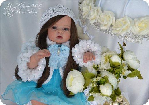 """Здравствуйте,девочка-мастерицы. """"Родилась"""" у меня очередная куколка Маргаритка. Ростом 70 см, весом около 3,5 кг. фото 3"""