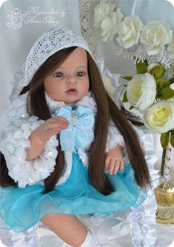 """Здравствуйте,девочка-мастерицы. """"Родилась"""" у меня очередная куколка Маргаритка. Ростом 70 см, весом около 3,5 кг. фото 4"""