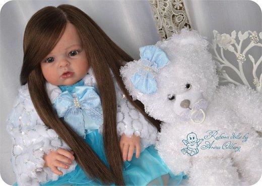 """Здравствуйте,девочка-мастерицы. """"Родилась"""" у меня очередная куколка Маргаритка. Ростом 70 см, весом около 3,5 кг. фото 5"""