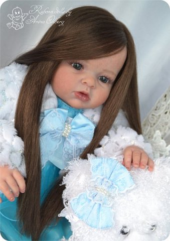 """Здравствуйте,девочка-мастерицы. """"Родилась"""" у меня очередная куколка Маргаритка. Ростом 70 см, весом около 3,5 кг. фото 7"""