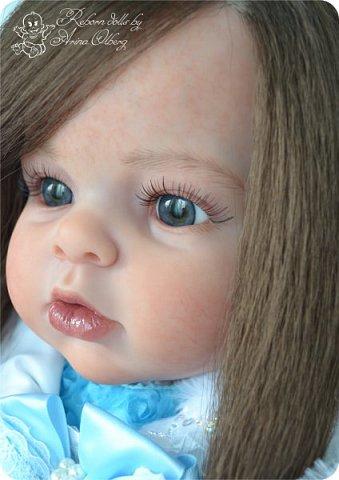 """Здравствуйте,девочка-мастерицы. """"Родилась"""" у меня очередная куколка Маргаритка. Ростом 70 см, весом около 3,5 кг. фото 8"""