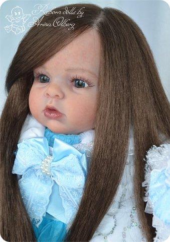 """Здравствуйте,девочка-мастерицы. """"Родилась"""" у меня очередная куколка Маргаритка. Ростом 70 см, весом около 3,5 кг. фото 9"""