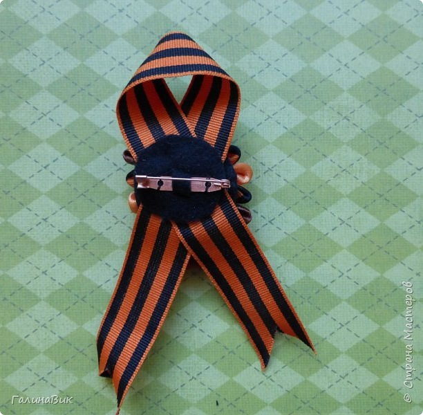 Приветствую всех в Стране Мастеров! К великому празднику сделала свои варианты украшений, за МК которых благодарю Марциновскую Светлану. http://stranamasterov.ru/node/916557 фото 8