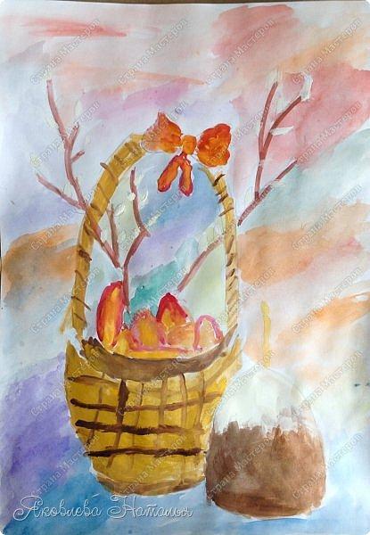 Всем, здравствуйте!!!!  От всей души поздравляю с наступающим Светлым Христовым Воскресением и предлагаю вашему вниманию работы детей, которые мы посвятили этому замечательному празднику. фото 4