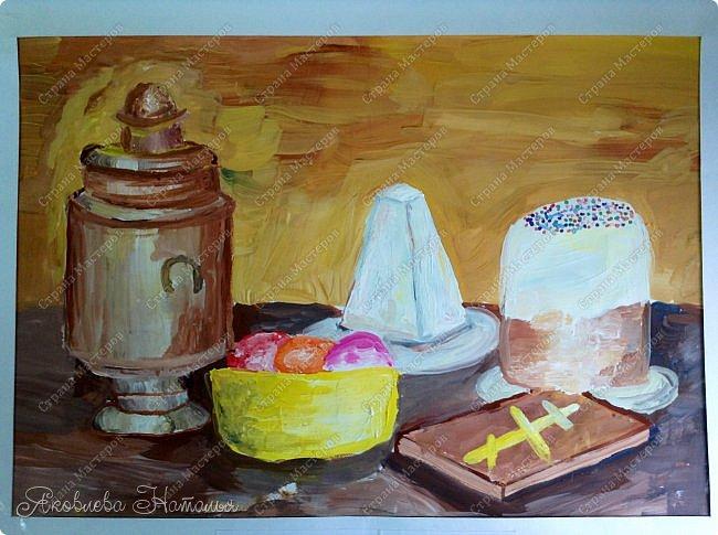Всем, здравствуйте!!!!  От всей души поздравляю с наступающим Светлым Христовым Воскресением и предлагаю вашему вниманию работы детей, которые мы посвятили этому замечательному празднику. фото 17