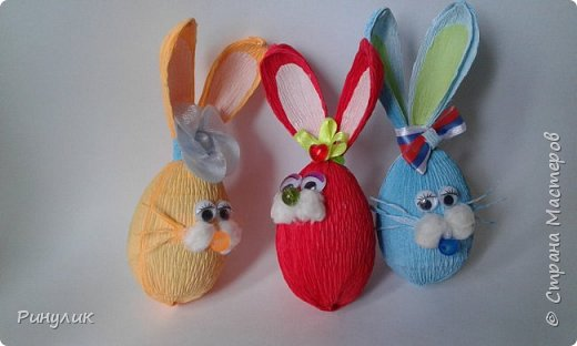 На пасху у меня развилась кроликомания. Увидела пасхального кролика у Ирины Шер и все  пропала тоже такого захотелось  фото 6