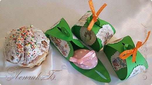 Здравствуйте дорогие мастера и мастерицы. От всей души поздравляю вас со светлым праздником Пасхи!!!  Такие коробочки для яиц у меня получились к празднику. Приятного просмотра. фото 3