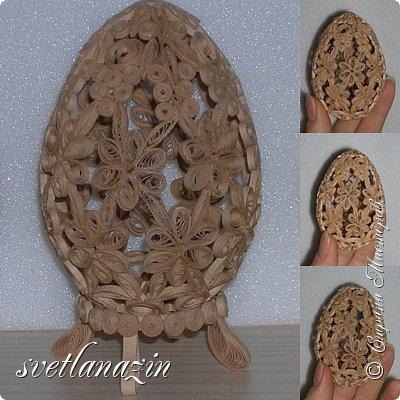 Представляю коллекцию пасхальных яиц. Полоски 1,5 мм. фото 6