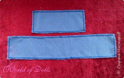 Небольшой мастер класс для кукольников, особенно подойдет начинающим. Наглядно показывает как легко можно пошить обычное платьице для куклы любого формата. Для этого нам понадобится: 1. ткань 2. нитки 3. ножницы 4. игла или швейная машина 5. липучка ..и желание :)) фото 3