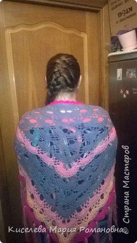 Здравствуйте, Все жители СМ)))) Вот такие шали связались у меня.  фото 5