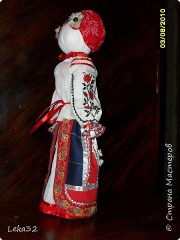 """Добрый день всем! Предлагаю Вашему вниманию две куклы-закрутки в так называемых """"межевых"""" костюмах. Этот костюмный комплекс существует на пограничных территориях Брянской и Калужской области.  фото 1"""