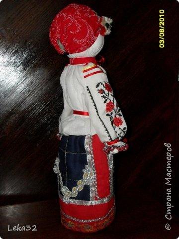 """Добрый день всем! Предлагаю Вашему вниманию две куклы-закрутки в так называемых """"межевых"""" костюмах. Этот костюмный комплекс существует на пограничных территориях Брянской и Калужской области.  фото 3"""